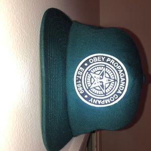 Green Obey Propaganda Hat
